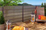 HAVANNA dekoratív, szőtt árnyékoló háló, 1,5x5 m