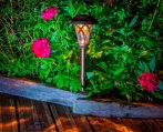EDEN klasszikus és elegáns stílusú leszúrható napelemes lámpa