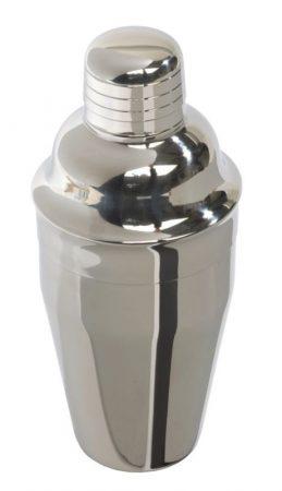 Rozsdamentes acél cocktail shaker 0,3l