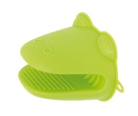 Croco szilikon edényfogó kesztyű, zöld