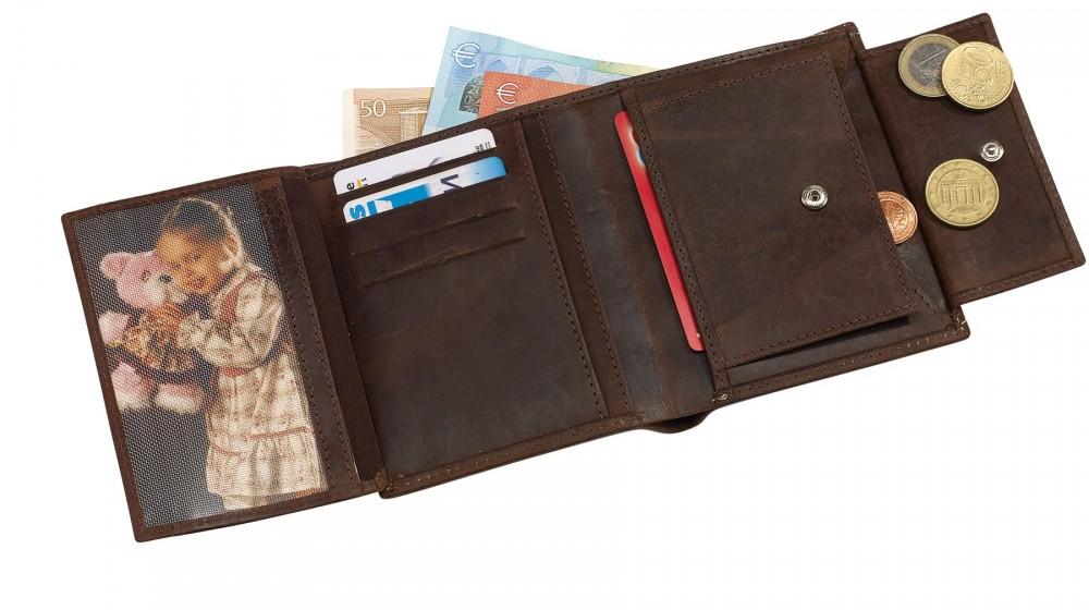 WILD STYLE valódi bőr pénztárca - Ajándék 3e9f70717e
