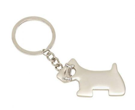 Dog kulcstartó kutya formával