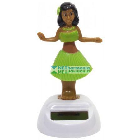 Hula napelemes táncoló figura