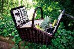 Richmond Park fonott piknik kosár
