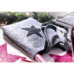 Star Dust filc bevásárlótáska