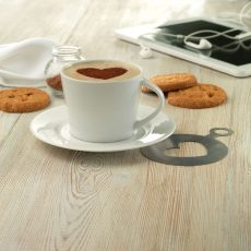 PARIS cappuccino csésze és csészealj