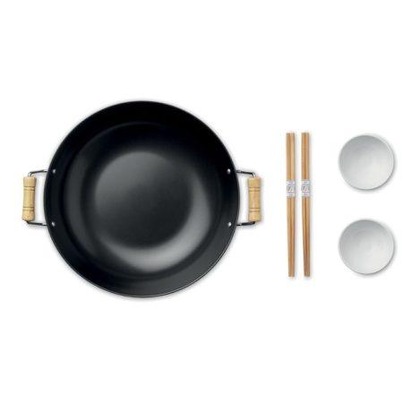 MEZAME Wok, 2 tálka & evőpálcikák