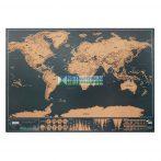 Világtérkép papírból