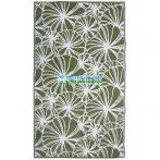 Kültéri szőnyeg virág mintával