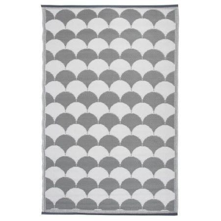 Kültéri szőnyeg, szürke mintával
