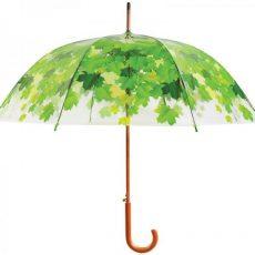 Esernyő, levél mintás