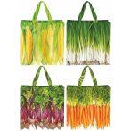 Zöldség mintás táska