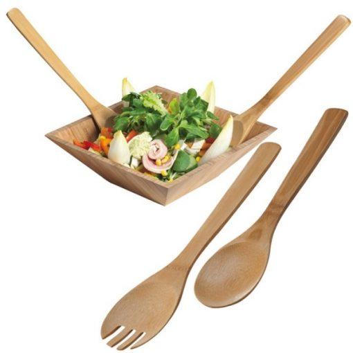 Capua bambusz salátás kiszedő