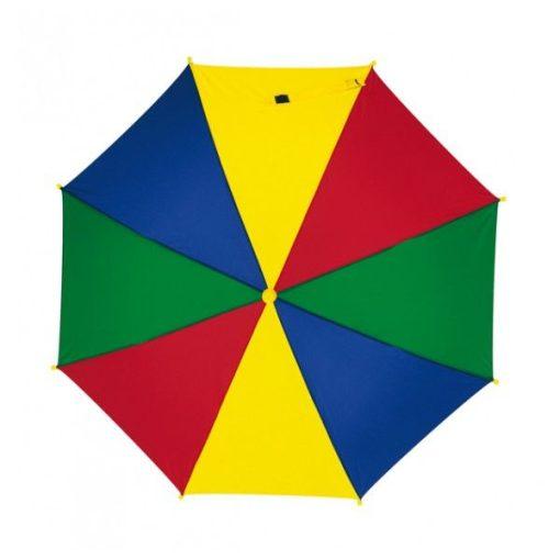 Gyermekesernyő biztonsági zárral, színes