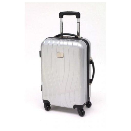 St. Tropez gurulós bőrönd, ezüst