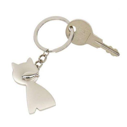 Cat kulcstartó cica formával