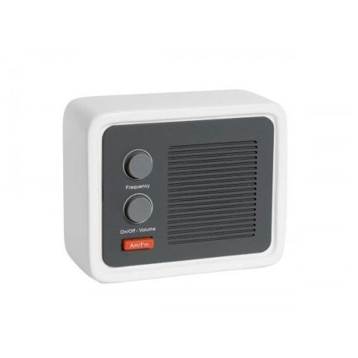 ICE RADIO stílusos rádió, fehér-fehér