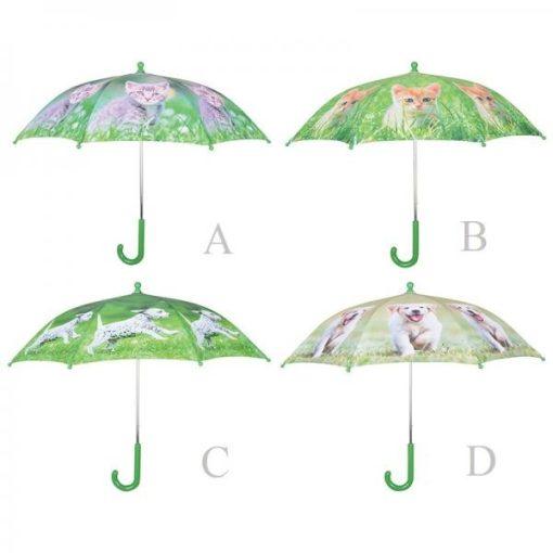 Háziállatos gyerek esernyők
