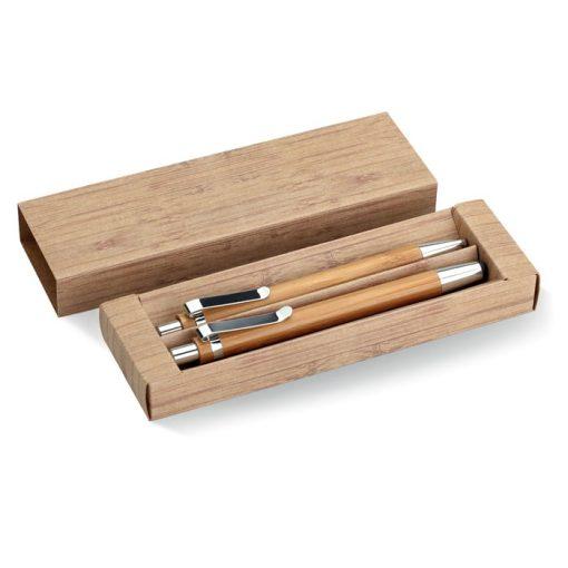 Bambusz toll és ceruza szett