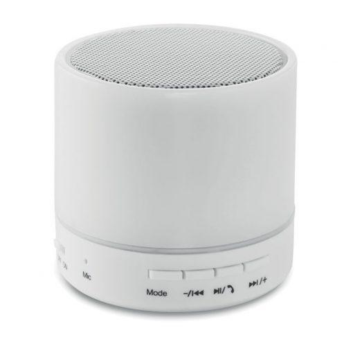 ROUND WHITE kerek Bluetooth hangszóró