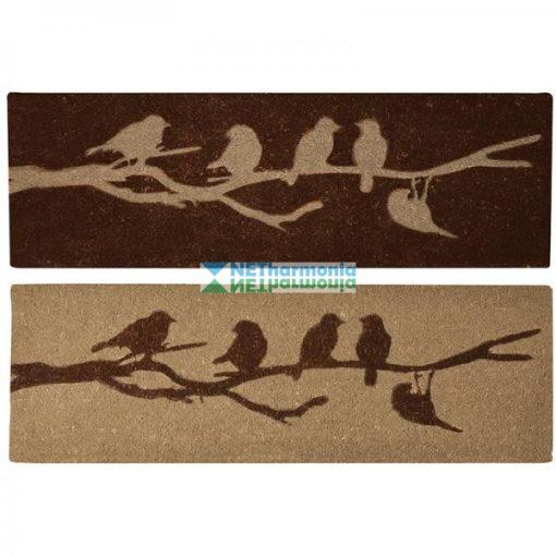 Lábtörlő, madaras 120x40 cm