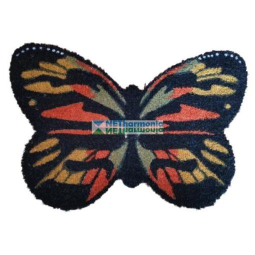 Pillangó alakú kókuszrost lábtörlő