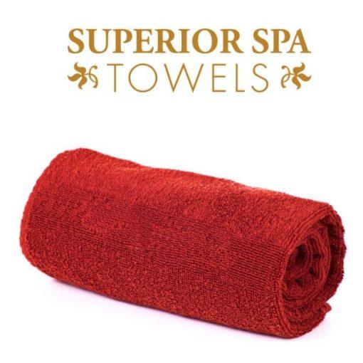 Superior SPA fürdőlepedő, piros, 70x140