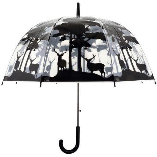 Erdei átlátszó esernyő
